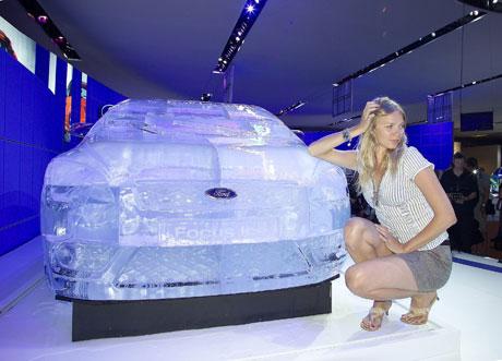 Ледяной форд (3 FOTO)