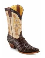 Супер элегантные сапоги в стиле американских ковбоев.
