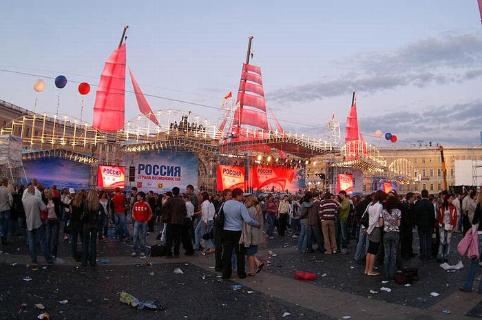 алые паруса 2007 d питере: