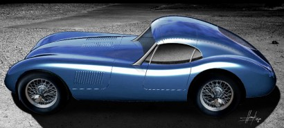 Proteus выпускает на рынок реплику купе Jaguar C-Type