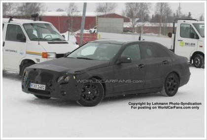 Шпионские фото нового Mercedes-Benz E-Class