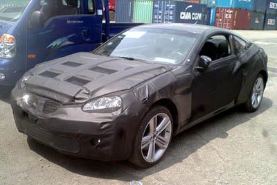 Шпионские фото Hyundai Coupe
