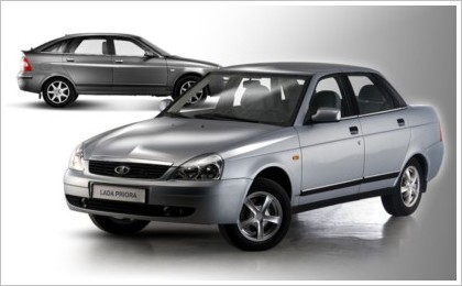 Продажи Lada Priora стартуют в апреле