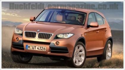 BMW X1 появится в 2010 году
