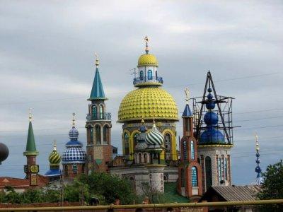 Храм для всех религий (9 фото)