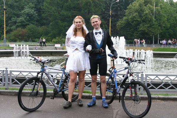 Свадьба велосипедистов
