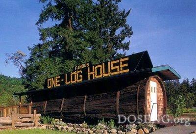 Дом из дерева, возраст которого 2100 лет (фото)