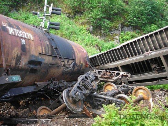 Крушение поезда...