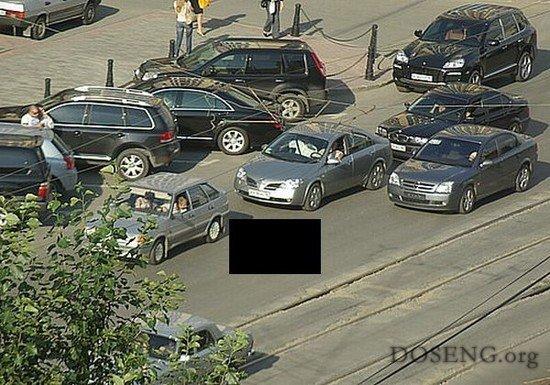 Осторожно пробка на дороге! (3 фото)