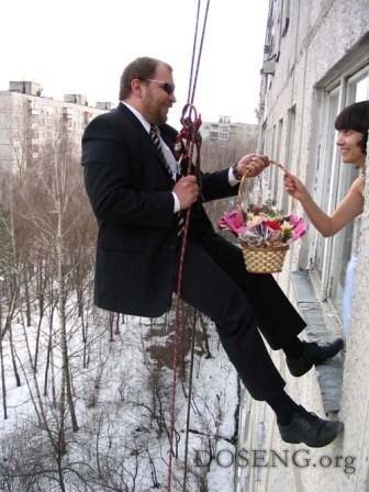 Интересные свадьбы