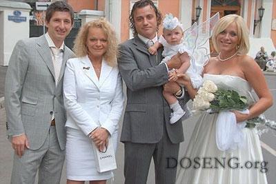 Лариса Долина стала крёстной дочери Началовой и Алдонина