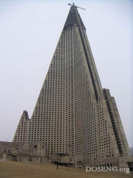 Ryugyong Hotel - великан долгострой