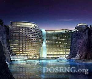 В Китае строят подводный отель