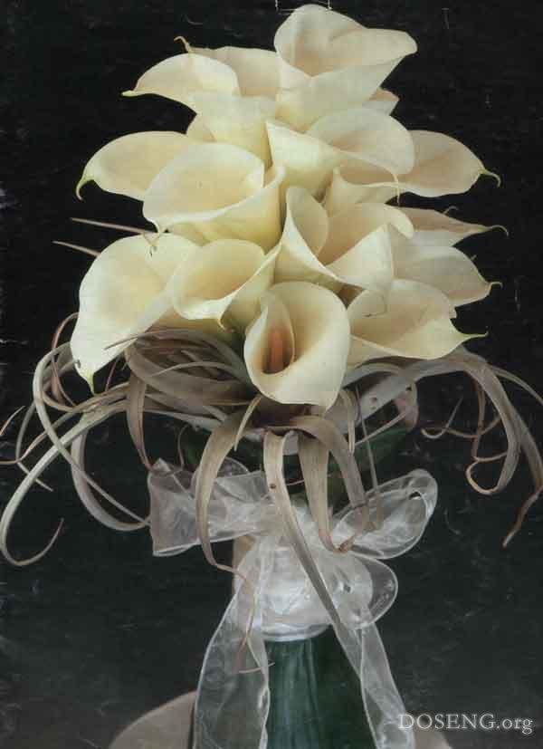 Свадебные букеты - галерея фотографий с красивыми свадебными букетами