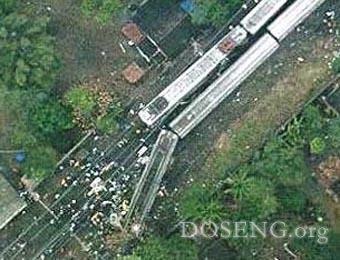 Железнодорожная катастрофа в Бразилии