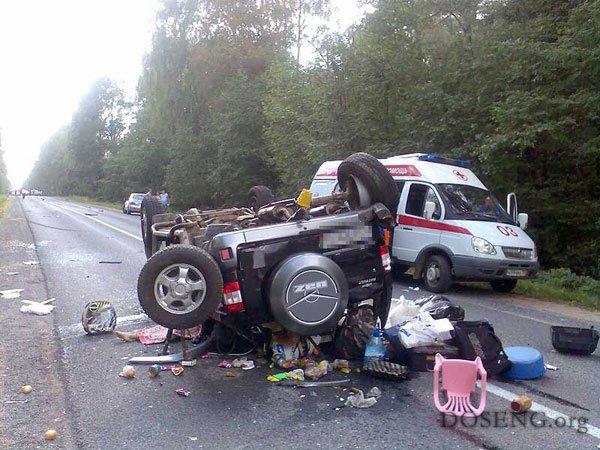 Будьте бдительны за рулем (3 фото)