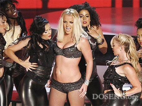 Звёзды на вручении премий MTV в Лас-Вегасе