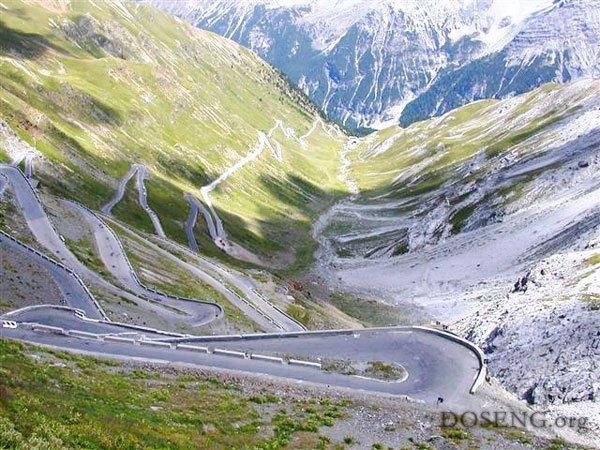 Stelvio Pass 2758 метров над уровнем моря (7 фото +2 видео)