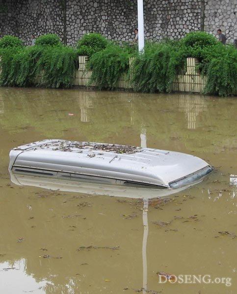 Наводнения в Китае (35 фото)