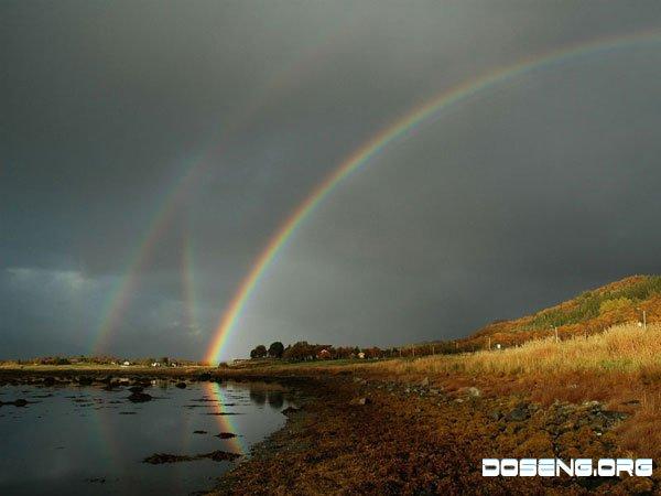 Шесть радуг над Норвегией