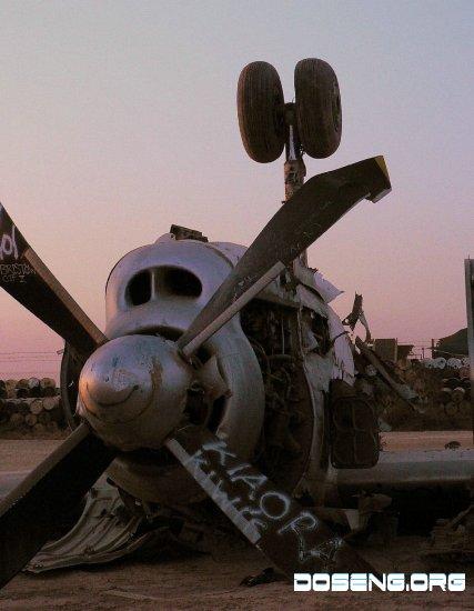 Заброшеная военная техника в ираке.