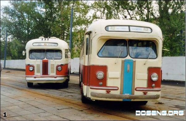 Советский общественный транспорт (28 фото)