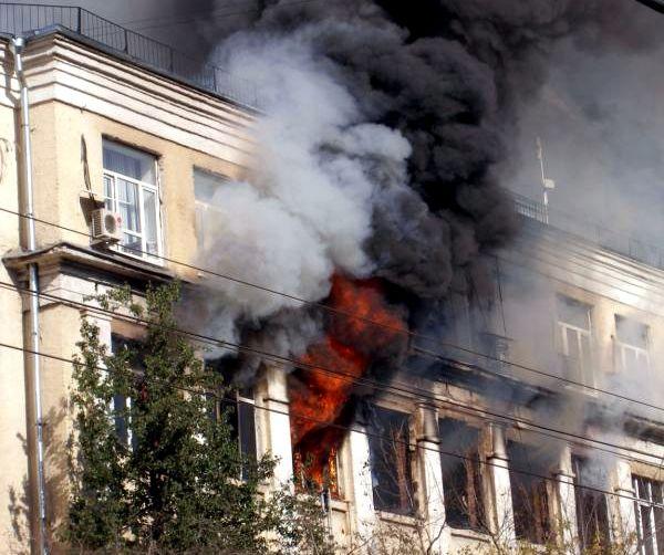 Крупный пожар в Москве (22 фото + видео)