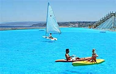 Где находится самый большой бассейн в мире... (1 фото)