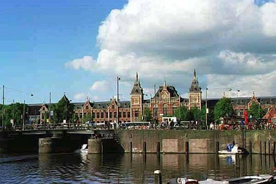 Прогулки по улицам Амстердама