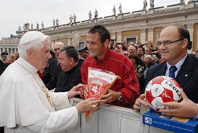Футбол признали Божьим делом