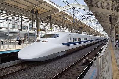 Японские поезда летают как пули