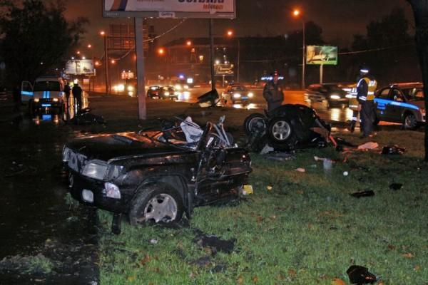 Жесткая авария на Кутузовском (7 фото)