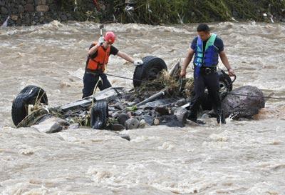 Центральная Америка во власти стихии