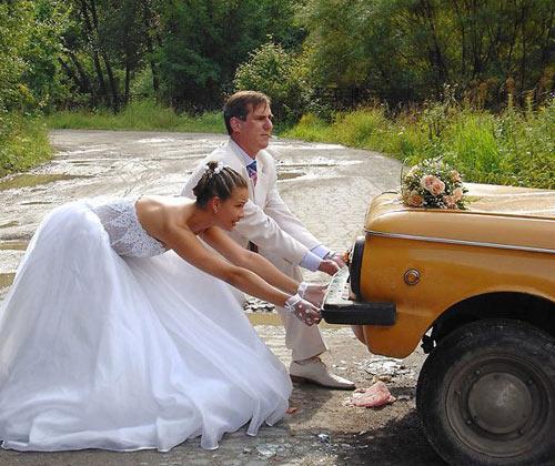 Что только не вытворяют на свадьбах...