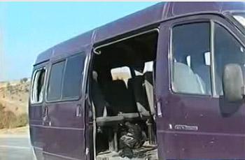 В Дагестане смертница взорвала маршрутку