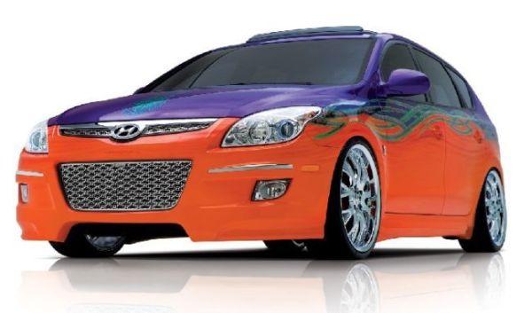 """Hyundai Elantra Touring """"Beach Cruiser"""" Concept (7 фото)"""