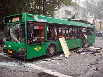 Взрыв в автобусе в Тольятти