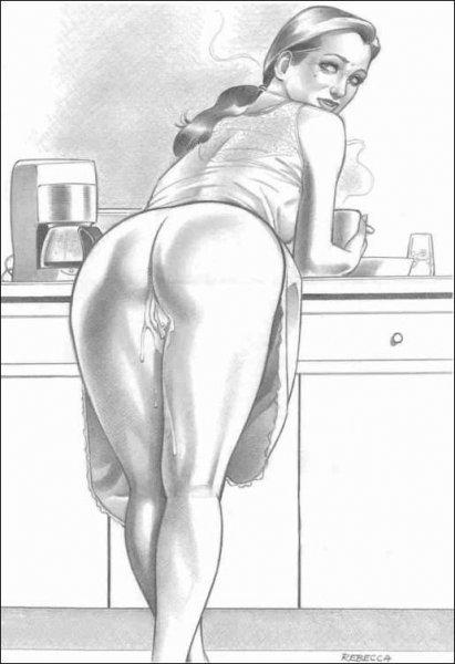 Рисунки женщин порно