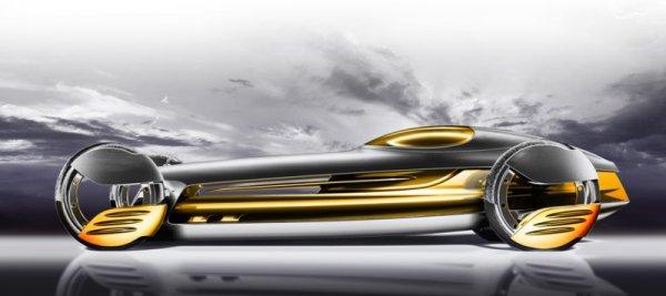 Design Challenge Robocar 2057: Mercedes-Benz SilverFlow