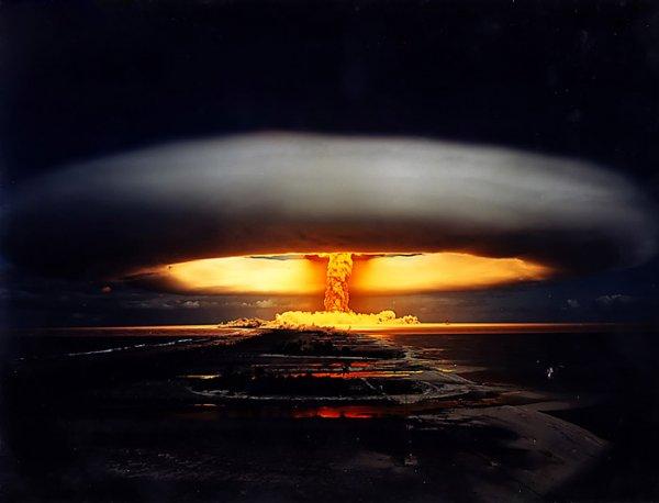 Как выглядит термоядерный взрыв!