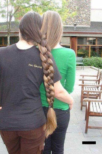 А вы любите длинные волосы? =)