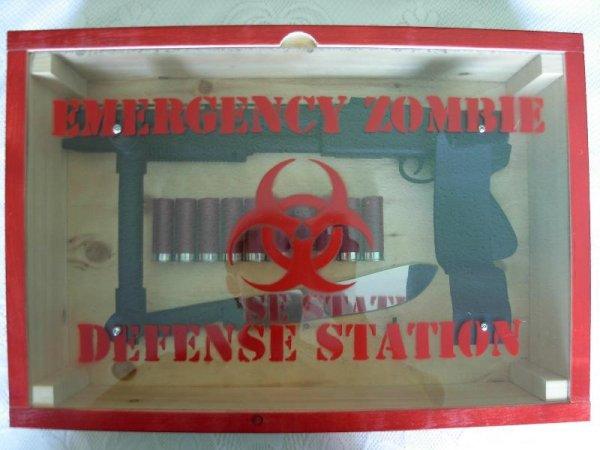 Американский набор для защиты от зомби (13 фото)
