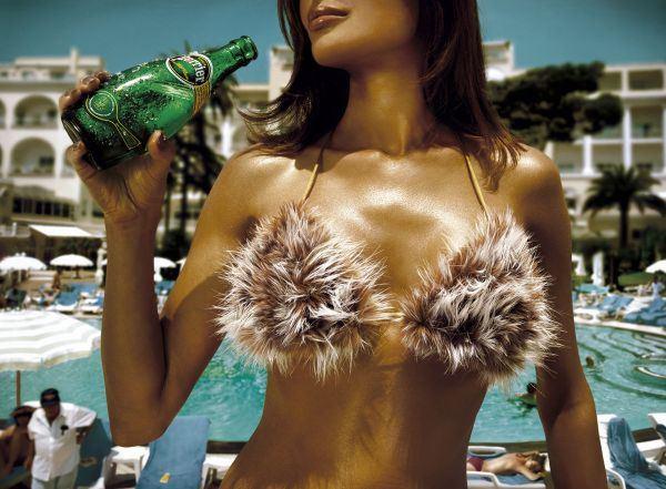 Новые рекламные принты французской натуральной минеральной воды Perrier (4  ...