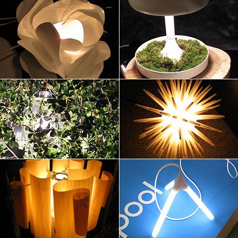 Дизайнерские лампы на Tokyo Design Week 2007 (8 фото)
