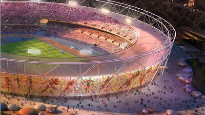 Проект нового олимпийского стадиона 2012 в Лондоне (9 фото)