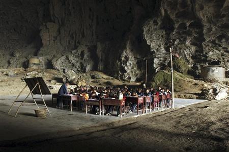 Необычная китайская школа (7 фото)