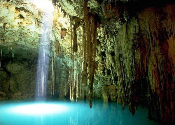 Горные пещеры (9 фото)