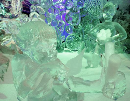 Конкурс ледовых скульптур в Брюгге, Бельгия (11 фото)