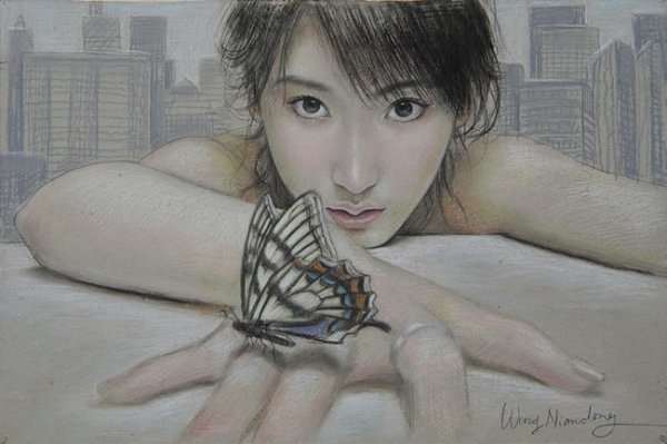 Художник Wang Niandong (36 рисунков)