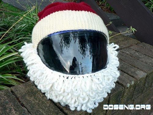 Шлем для Санты (4 фото)